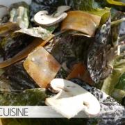 Salat Sauce mit Pilzen