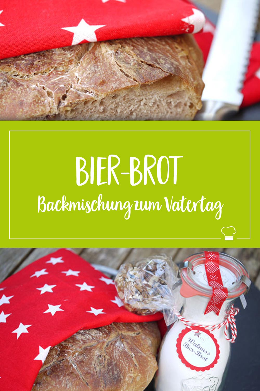 Walnuss-Bier-Brot-Mischung