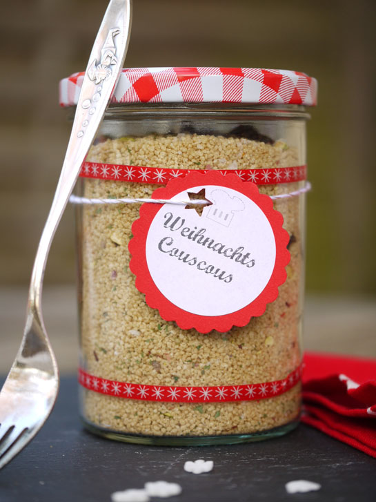 Weihnachts-Couscous