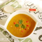 Paprika-Linsen-Kokos-Suppe