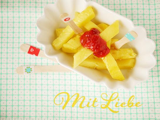 Ananas-Pommes
