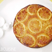 Zitronen-Upside-Down-Cake
