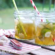 Apfel-Gin-Limetten