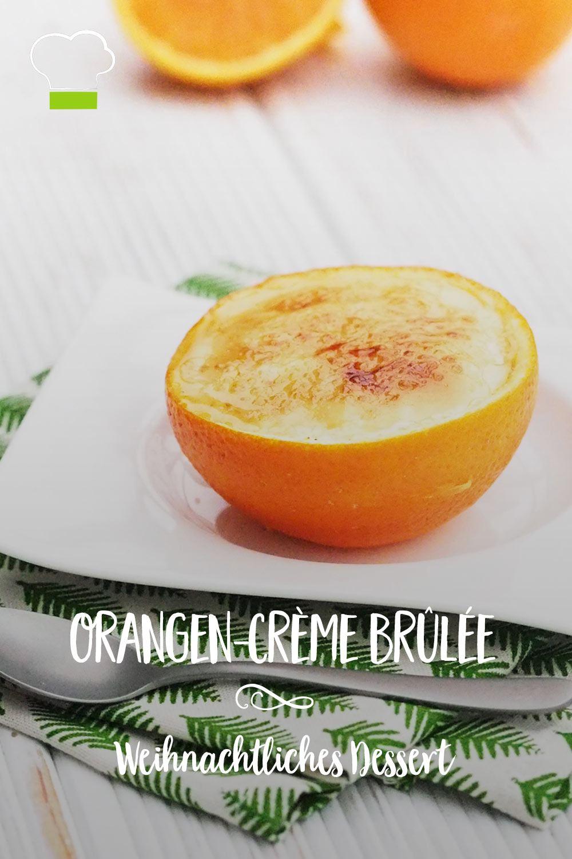 Orangen Creme Brülee