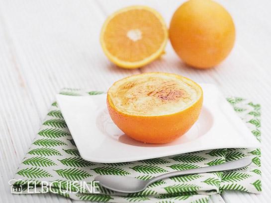 Orangen Creme Brulee