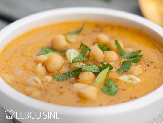 Kichererbsen-Karotten-Suppe