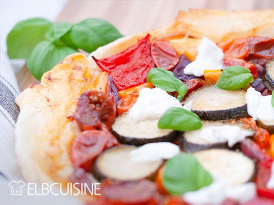 Blätterteig-Pizza