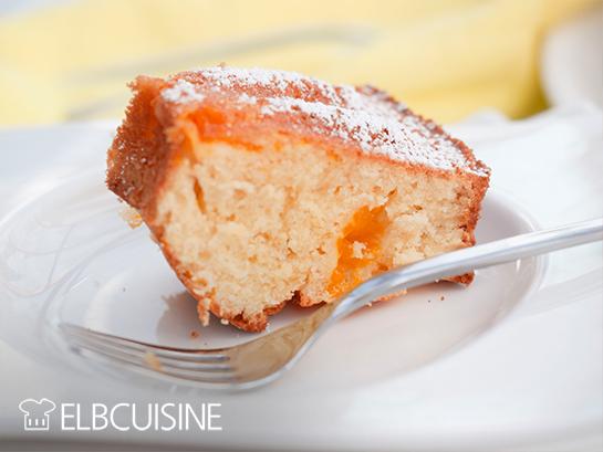 elbcuisine quark kuchen stück Teller Quarkkuchen