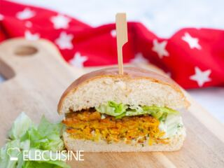 Bhaji-Burger Jamie Oliver