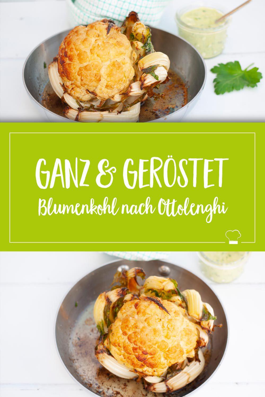 Ottolenghi Blumenkohl Pinterest
