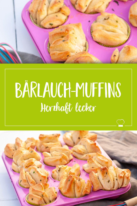 Bärlauch Zupfbrot Muffins