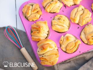 Grandiose Bärlauch-Zupfbrot-Muffins