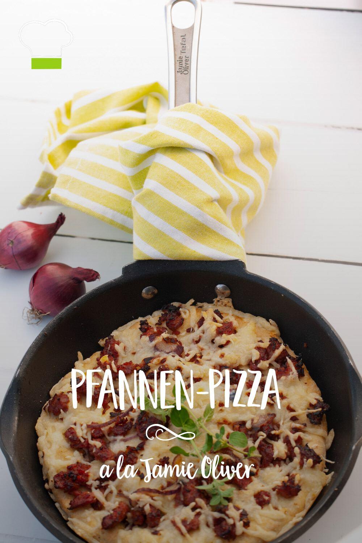 Pfannen Pizza Jamie Oliver