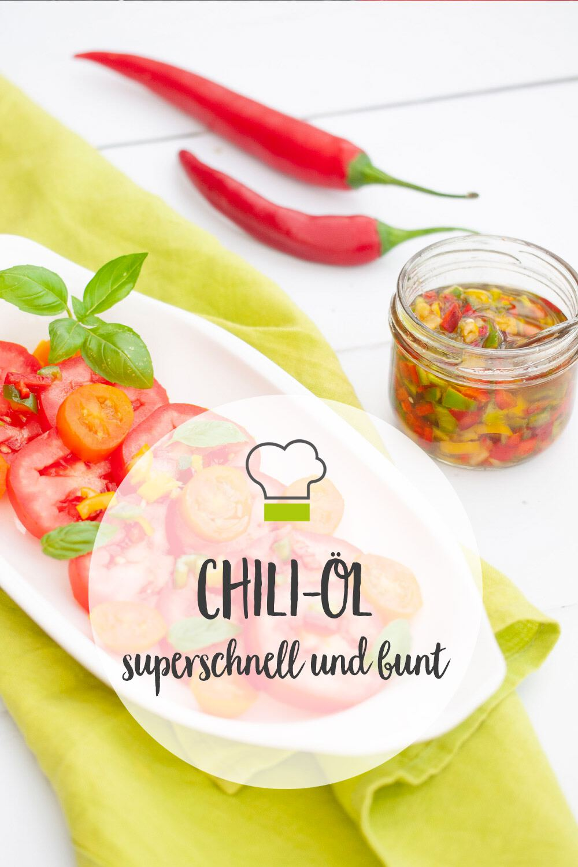 Chili-Öl Pinterest