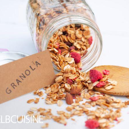 Granola – köstliches knuspriges Müsli