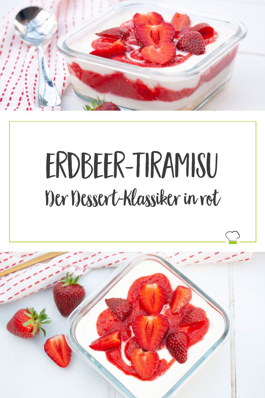 Erdbeertiramisu Pinterest