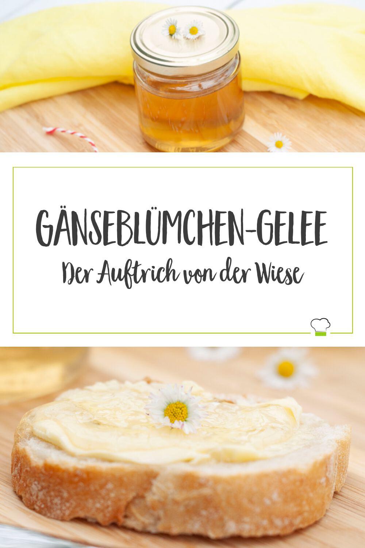 Gänseblümchen-Gelee Pinterest