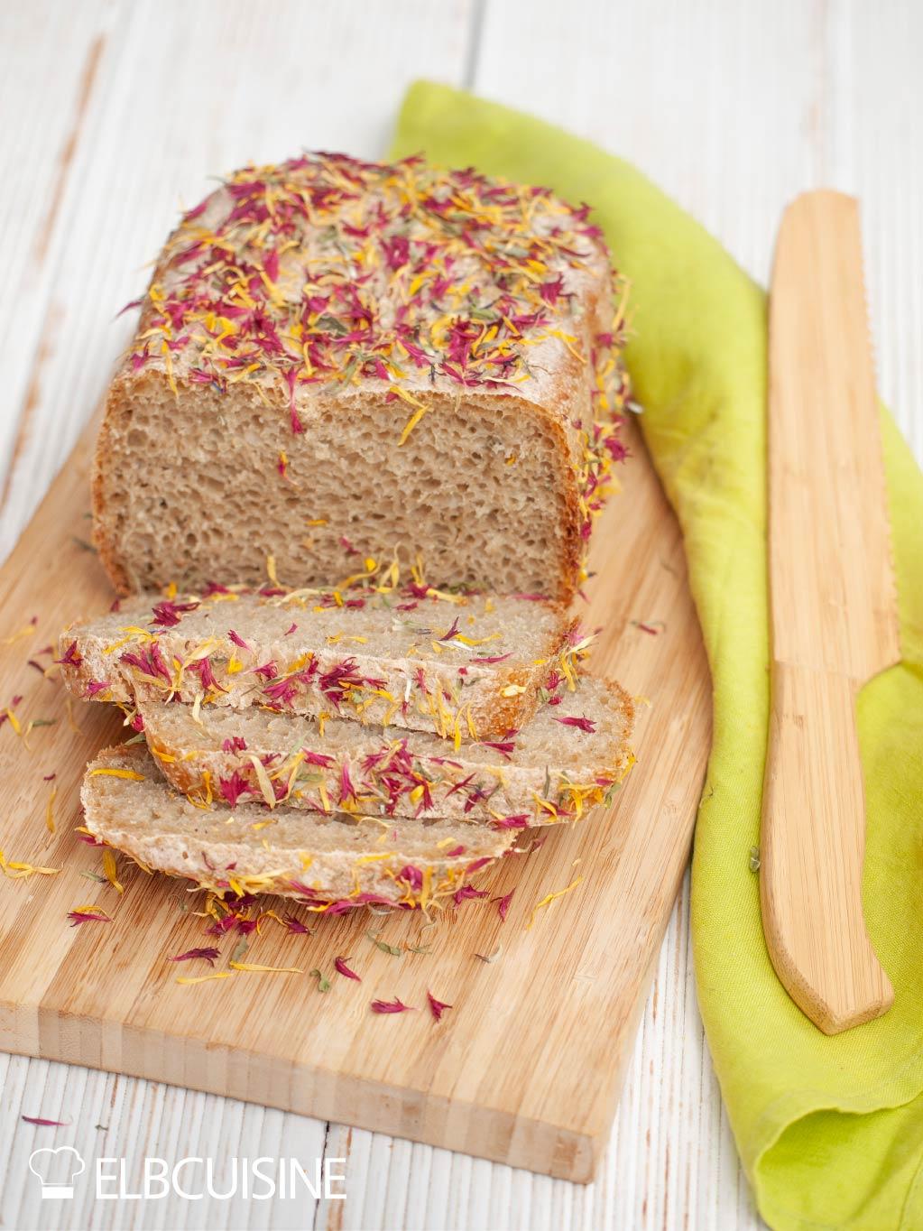 Blütenbrot Brot Brotbackautomat