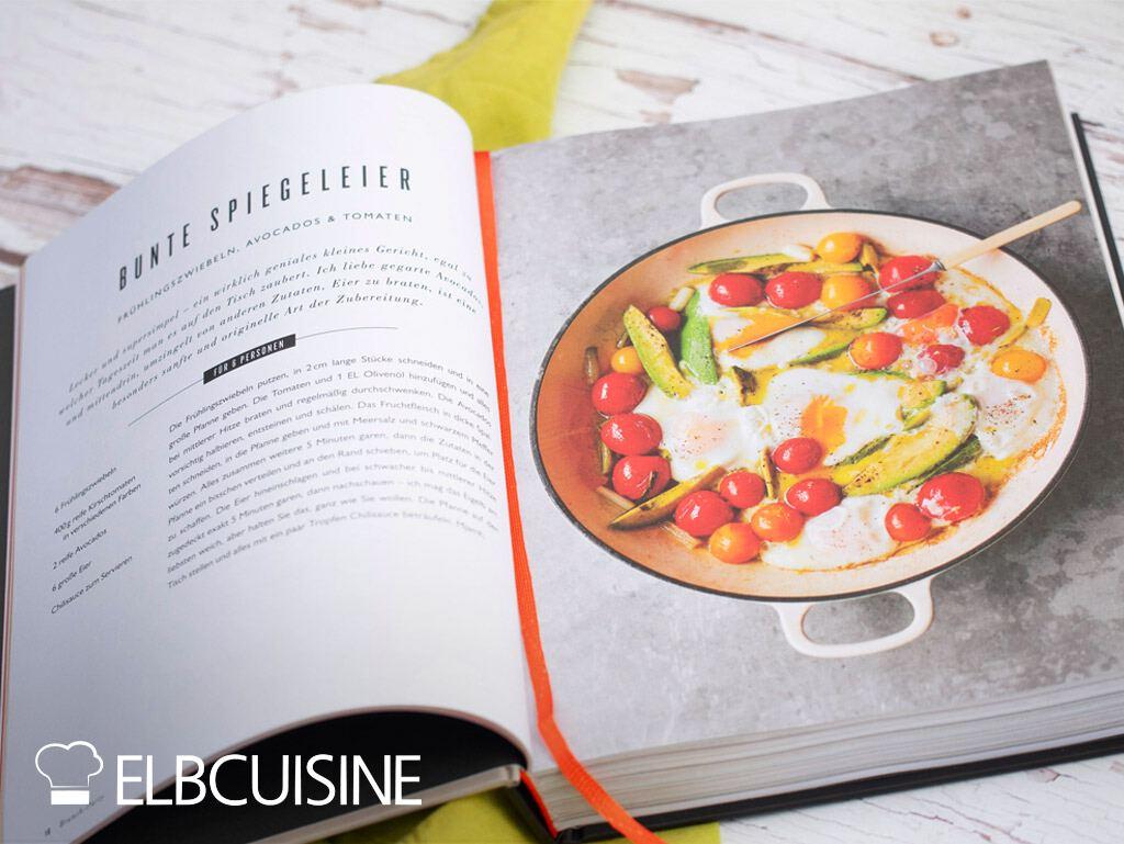 Jamie Oliver Rezept together Spiegelei Tomaten Avocado neues Kochbuch