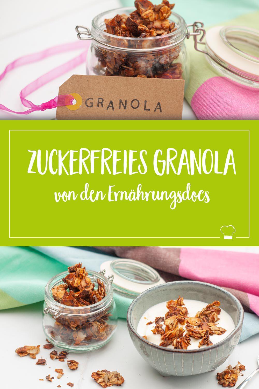 zuckerfreies Granola Frühstück